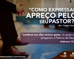 Como Expressar Apreço Pelo seu Pastor